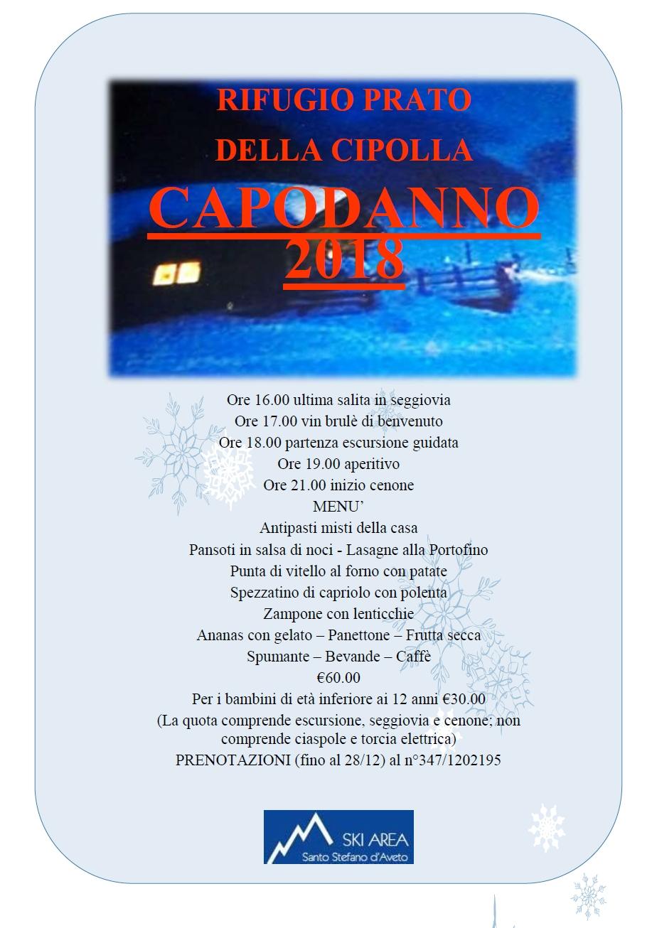 Calendario Cipolle 2019.Cenone Di Capodanno Al Prato Della Cipolla Comune Di Santo