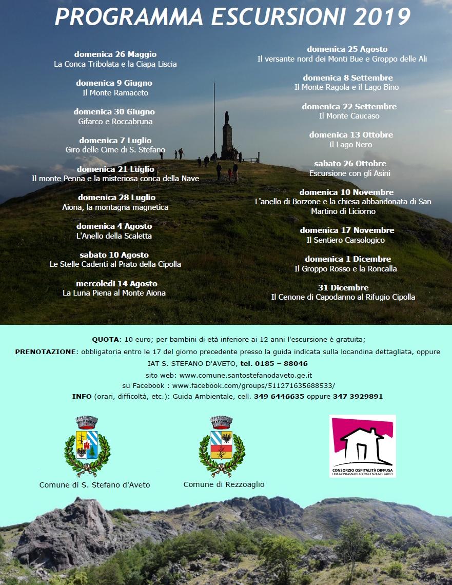 Guarda questa foto sull'evento Escursioni guidate 2019 a Santo Stefano D'Aveto